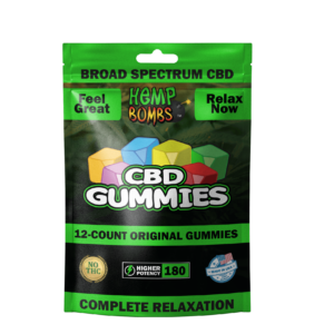 CBD Hemp Bombs Gomitas Chile