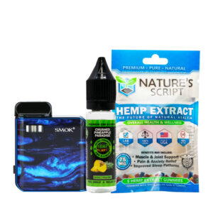 Mico + 5CT Gummy + 75MG (Hemb Bombs) Eliquid CBD (Nature Script)