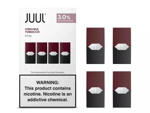 Juul Pods Virginia Tobacco Chile
