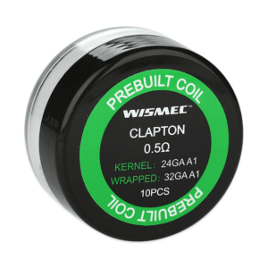 WISMEC Clapton coil reparable 10 Unidades