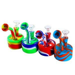 Silicona-bubbler-bong-colores