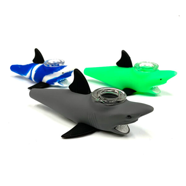 pipa-tiburon-silicona-quemador-vidrio