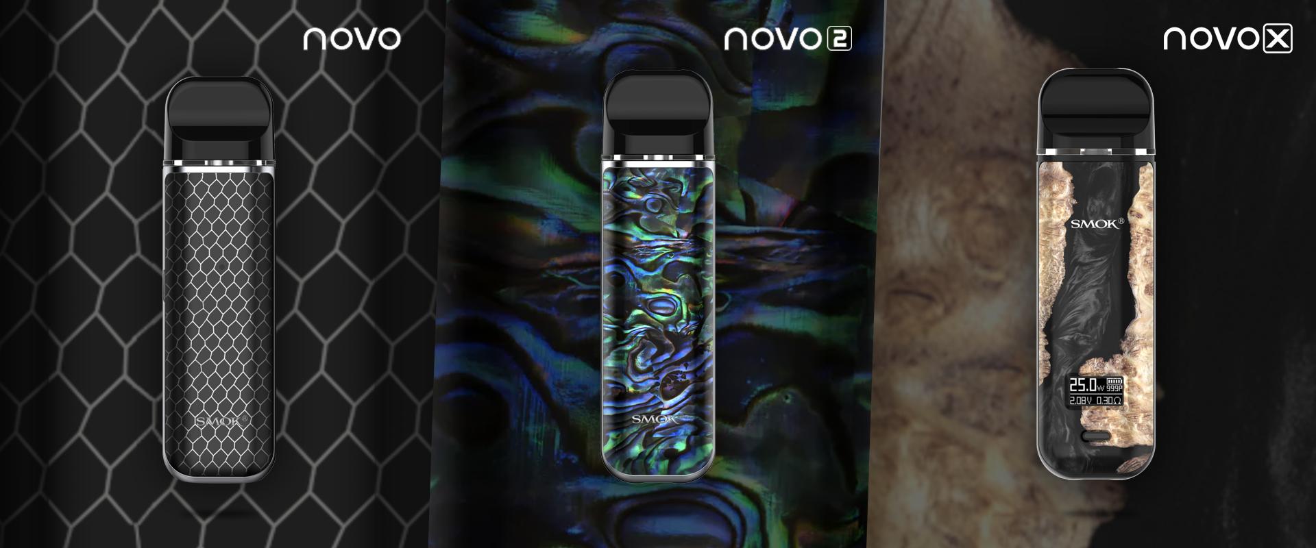 ¡El nuevo Smok NOVO que tienes que ojear!