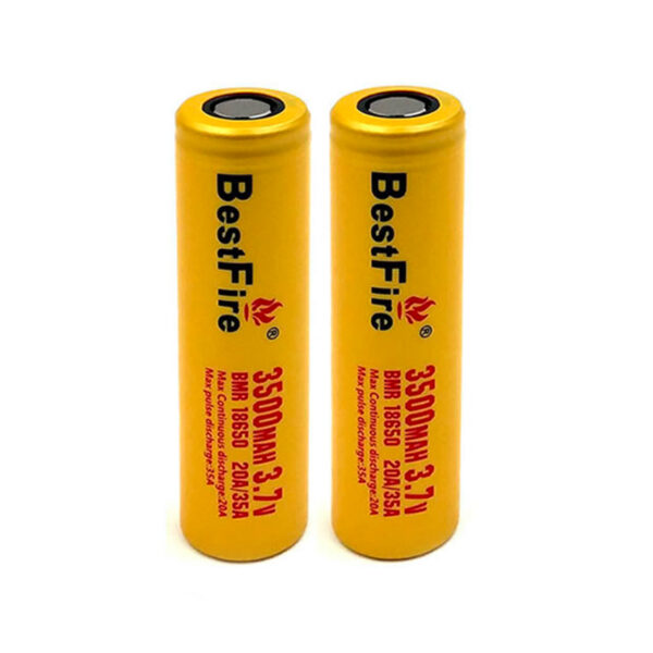 BestFire BMR 18650-Battery 3500mAh-(Pack-x2)