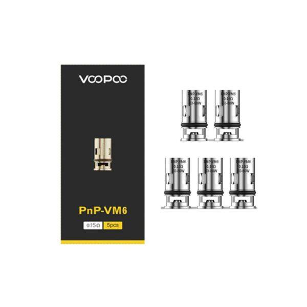 Voopoo-PnP-VM6-0.15ohm-coils