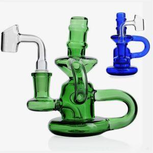 Bong de vidrio Klein Recycler