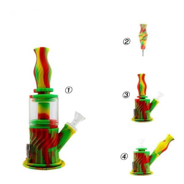 Bong Big Colorfull 4 en 1