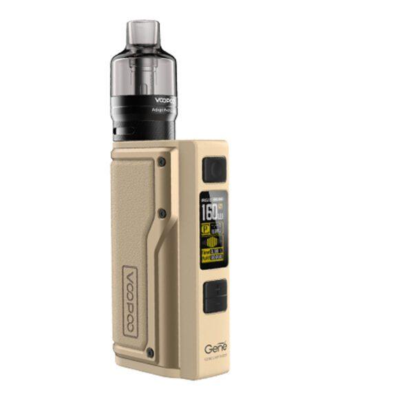 voopoo argus gt 160w tc kit with pnp tank desert yellow