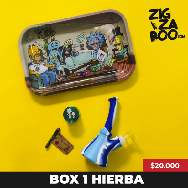 Caja Promo 420 Herbal - Al cielo en Bong